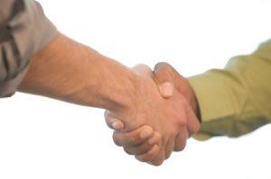 Good Old-Fashioned Handshake
