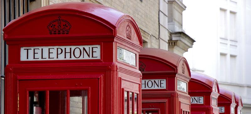 Telephone booths uk